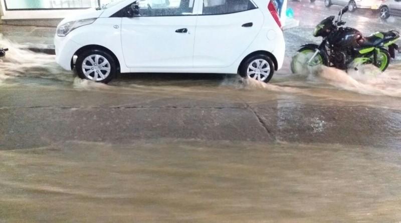 San Gil llueve