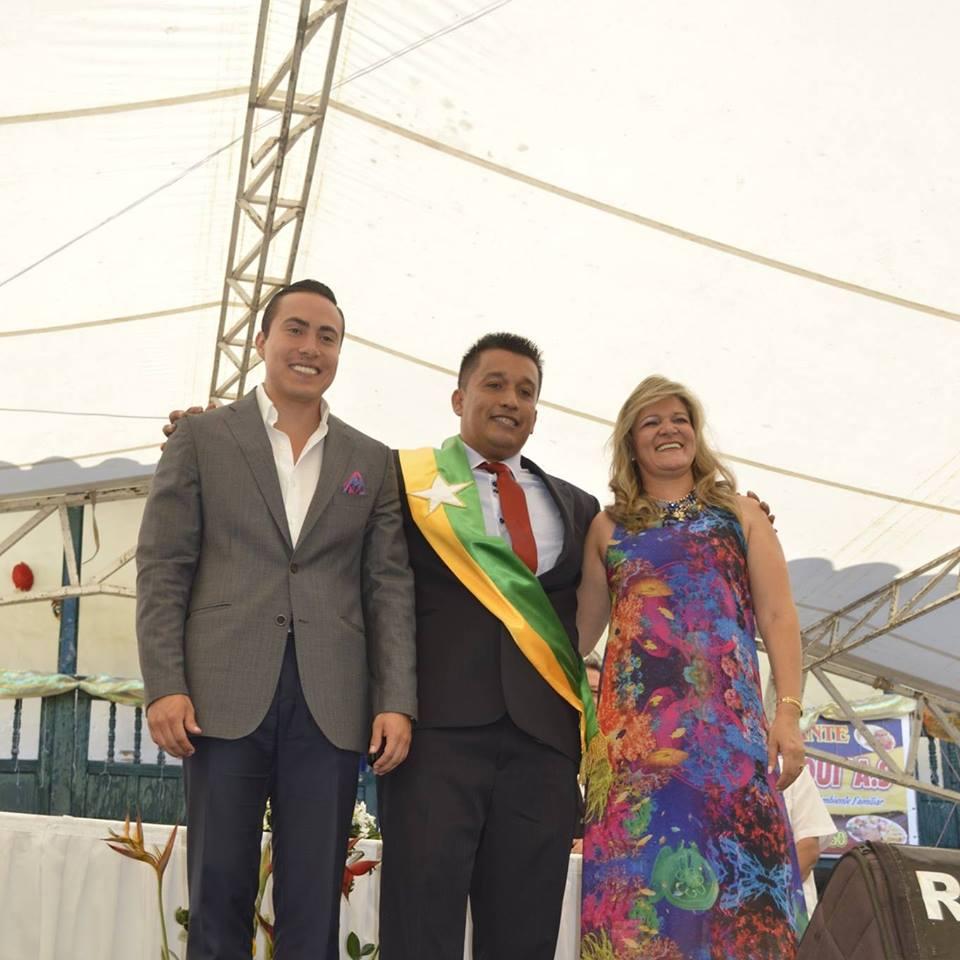 FOTO FACEBOOK: RICHARD AGILAR VILLA Y JAIME CALA