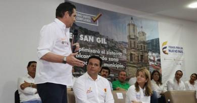 FOTO FACEBOOK ALCALDIA DE SAN GIL