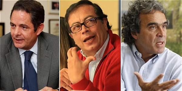 Gustavo Petro Lidera Intención de voto presidencial, por encima de Vargas Lleras. Foto El Tiempo