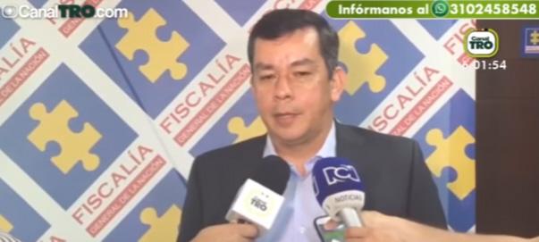 Carlos Javier González Sarmiento Direcctor Seccional de Fiscalias