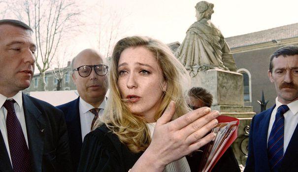 Marine Le Pen en 1995