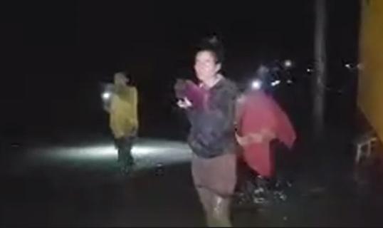 paseo real inundado