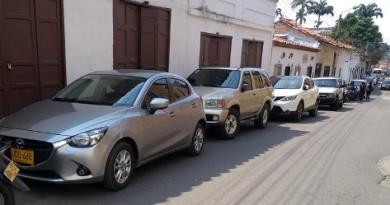 HURTARON EN EL VEHÍCULO DEL ALCALDE DE CONFINES EN SOCORRO (S)