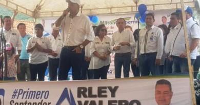 ARLEY VALERO EN EL SUR DE SANTANDER, DE MENOS A MÁS