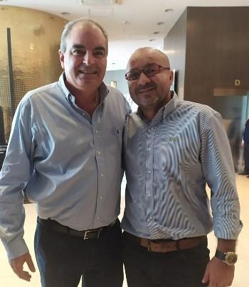 Aurelio Iragorry y Juan Carlos Sánchez