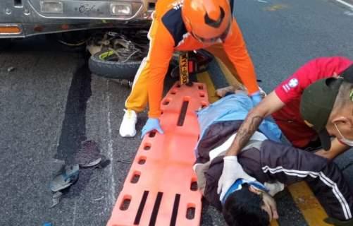 Accidente vía San Gil – Bucaramanga
